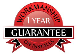 1 year workmanship guarantee on furnace, boiler, or air conditioner installs