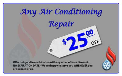 Save $25 on AC repair